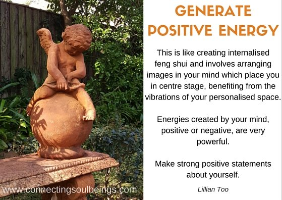 Dealing with negative thoughts and generate positive energy