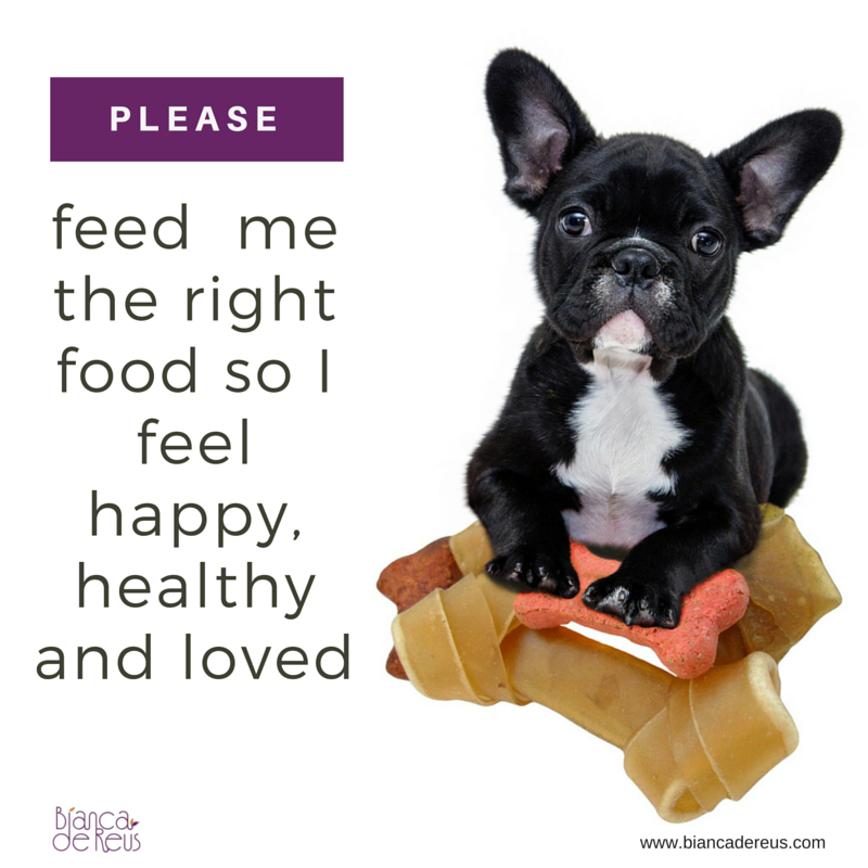 Please feed me the right food!