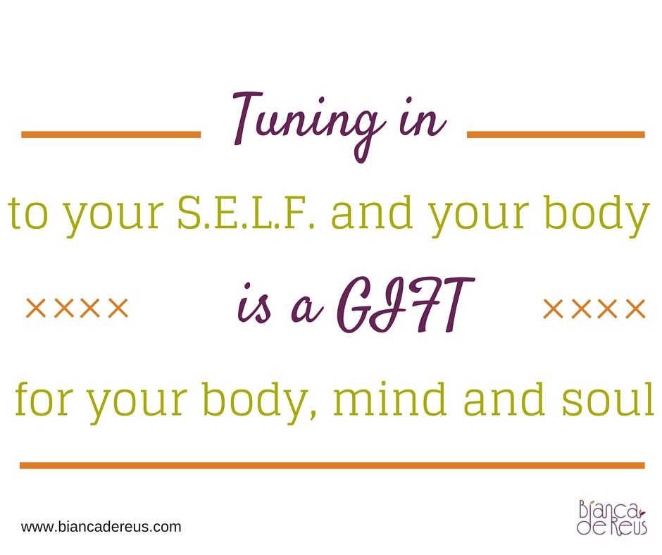 Tuning into your body
